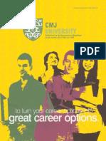 CMJ University Prospectus NEW