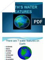 earths water features powerpoint