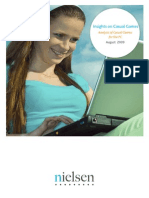 Insights on Casual Games Analysis of Casual Games for the PC | Nielsen Research 2009