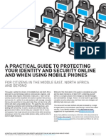 Protecting Your Security Online - A Practical Guide (Design)