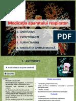 Curs 13 - Medicatia Aparatului Respirator