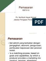 Pemasaran RBT3110-Sem 5