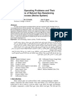 General Operating Problems and Their Solutions of Natural Gas Sweetening Process (Amine System)