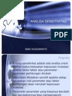 9. Analisa Sensitivitas