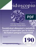 Tossinfezioni alimentari e metodiche recenti ed innovative per la ricerca dei batteri patogeni responsabili