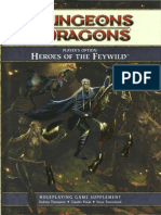 d&d 4e Heroes of the Feywild