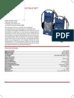 9061 9062 Fiber Optic Talk Set Spec Sheet