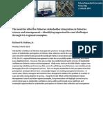 FDI 2014 Keynote Robbins