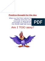 Am I Too Sexy...