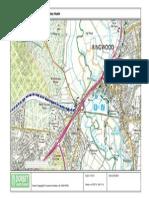 Map 1 of 8 - Castleman Trailway - Ringwood to Ashley Heath