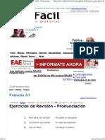 Curso gratis de Francés A1 - E
