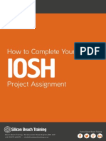 How to Complete Your Iosh Project Assessment