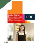 India Higher Edu Sector (251012)