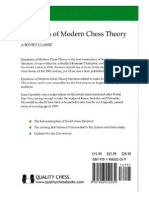 Questions of Modern Chess Theory by Isaac Lipnitsky
