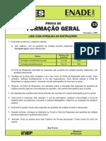 Formacao_geral Enade 2009
