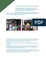Cual Es La Diferencia Entre El Proceso Industrial y El Proceso Artesanal