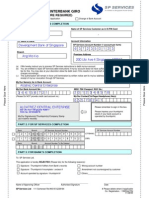 Giro Form for Utilities ACC1006 project