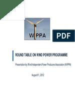 Presentation by Shri Sunil Jain, President, WIPPA