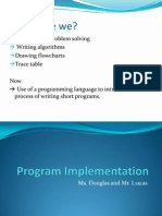 Program Implementation ITnotes