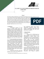 Pengaturan Lampu Lalu Lintas Berbasis Mikrokontroler Atmega8535