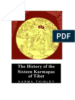 The History of the Sixteen Karmapas