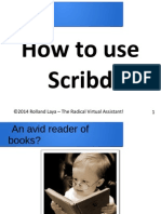 How to use Scribd