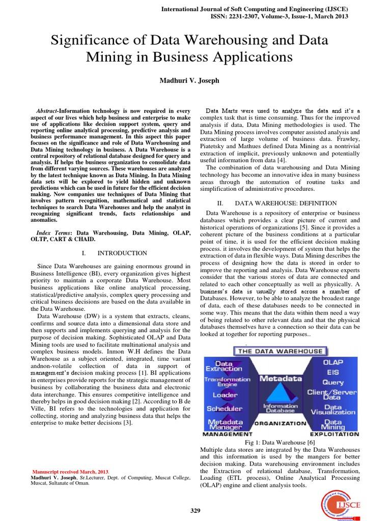 Data Warehousing Data Mining & Olap Ebook