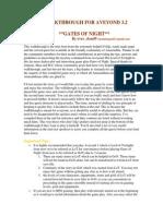 Aveyond Gates of Night Walkthrough PDF