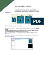 Proteus Library for Arduino