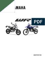 Yamaha Wr125 Service Manual