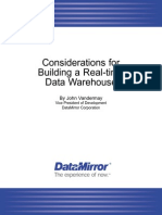 Considerations for