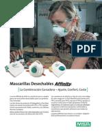 Respirador Libre Mantenimiento Affinity MSA