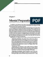 Chapter 7 - Mental Preparation