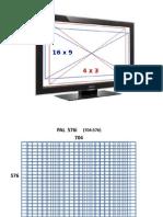 TV SCREEN and Pixels Aspect Ratio