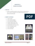Laboratorio maquinas electricas N°2