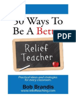 50 Ways to Be a Better Relief Teacher