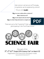 PRS Science Fair 2014 Info Packet