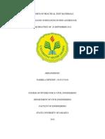 laporan praktek uji bahan