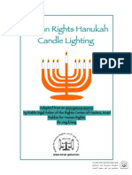 Human Rights Hanukah Candle Lighting-Final
