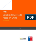 Estudio de Mercado, Pasas en China Prochile