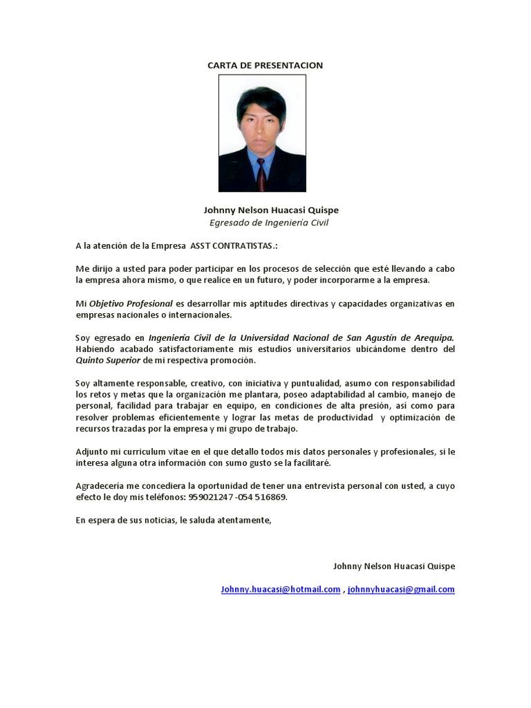 Hermosa Ingeniero De Tuberías Curriculum Vitae Carta De Presentación ...