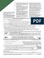 Form W-4 (2009)