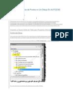 Cómo Crear Tablas de Puntos en Un Dibujo En AUTOCAD CIVIL 3D 1