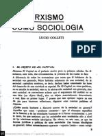 Colletti El Marxismo como sociología n07p003
