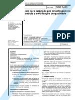 abnt nbr-5425 guia para inspeção de amostragem no controle de certificação de qualidade