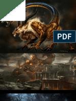 God of War III Concept Arts