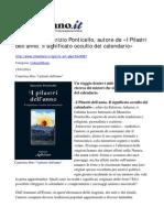 Intervista allo scrittore Maurizio Ponticello su IL MEDIANO, a cura di Maddalena Ceglia