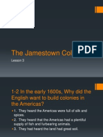 chap  7 the jamestown colony