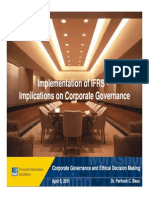 IFRS & Corp. Governance - Dun & Bradstreet April, 2011