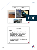 global human ethical impacts